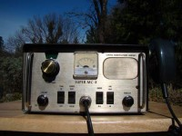 General Radiotelephone Super MC-8 from the Collection of Paul SWL# 45