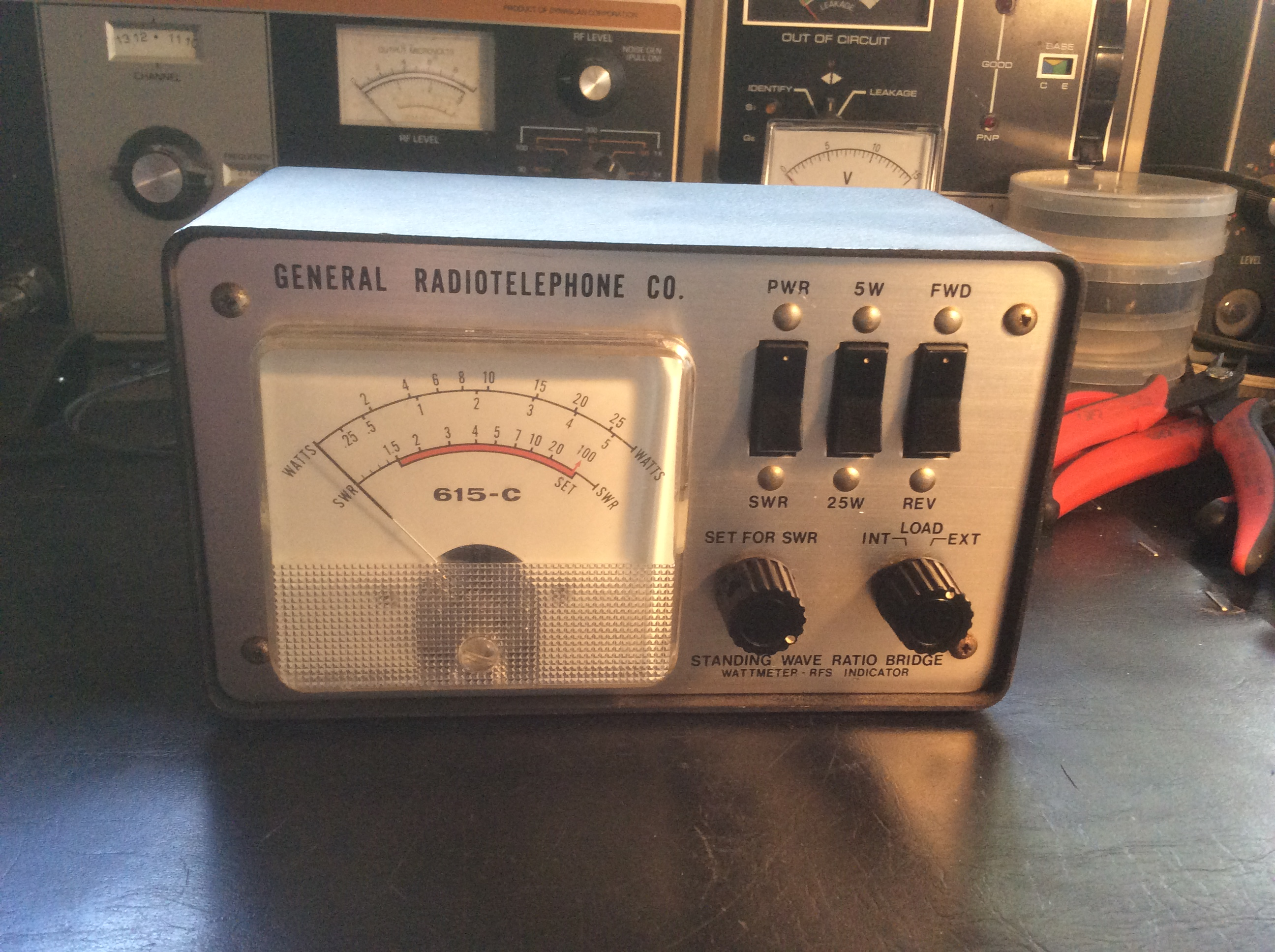 General Radiotelephone 615C - From the Collection of Paul SWL#45