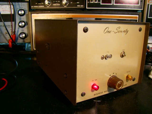 Browning 170 DC Amplifier - photo courtesy of Paul SWL# 45