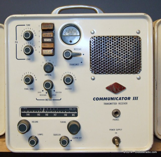 Gonset Communicator III - from the collection of Pat Fennacy W6YEP