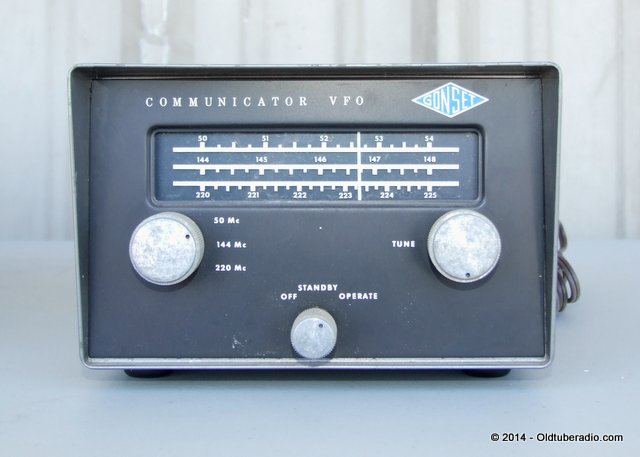 Gonset Communicator VFO - from the collection of Pat Fennacy W6YEP
