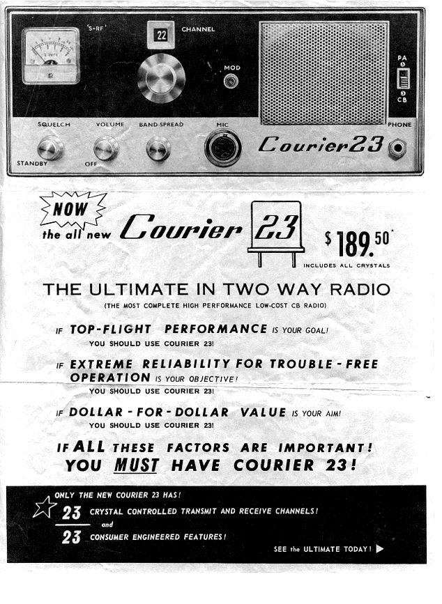 Courier 23 - advertisement