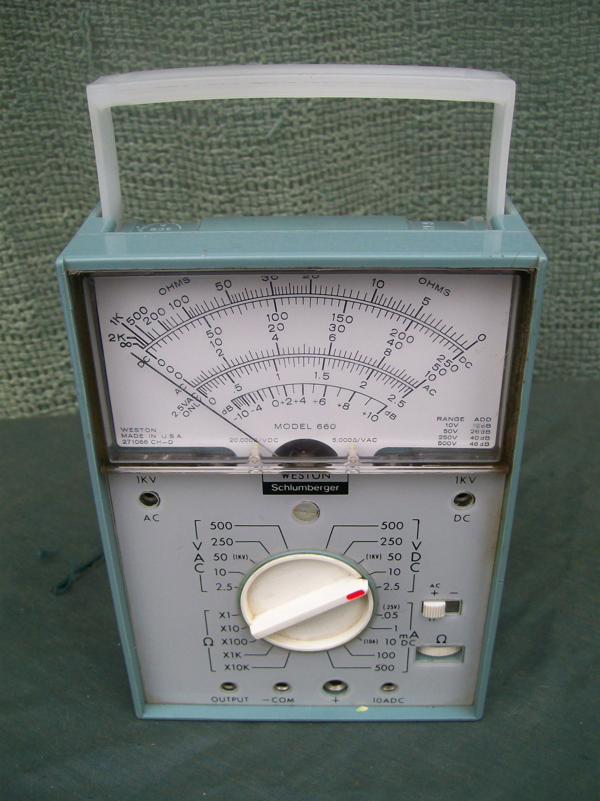 Weston Schlumberger antique radio forums \u2022 view topic radio shack micronta analog  at readyjetset.co