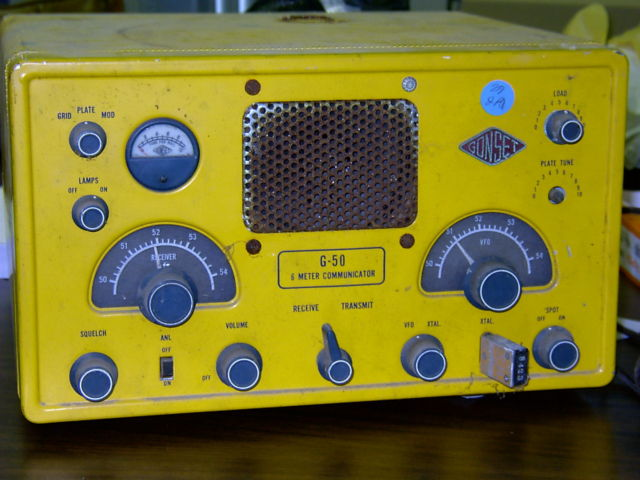 Gonset G50 Communicator - Yellow