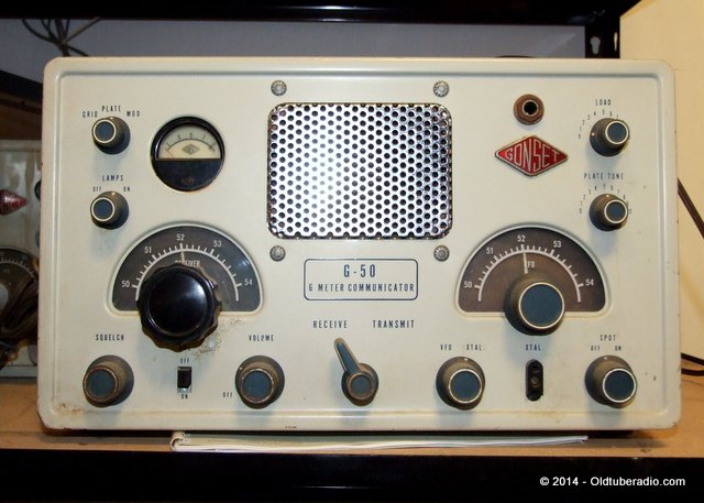 Gonset G-50 Communicator - from the collection of Pat Fennacy W6YEP