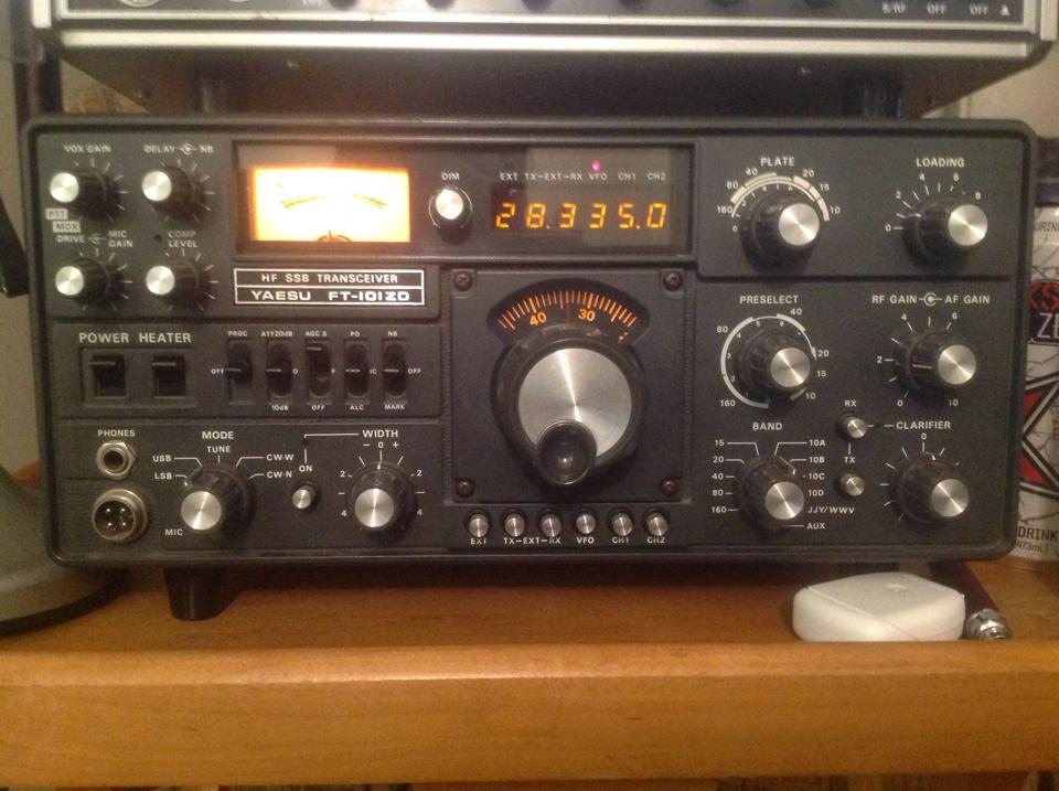 Yaesu FT-101ZD - photo courtesy of Rhett B.
