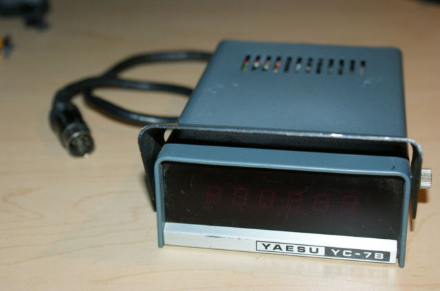 Frequency Counter Theory : Yaesu yc b frequency counter the old tube radio archives
