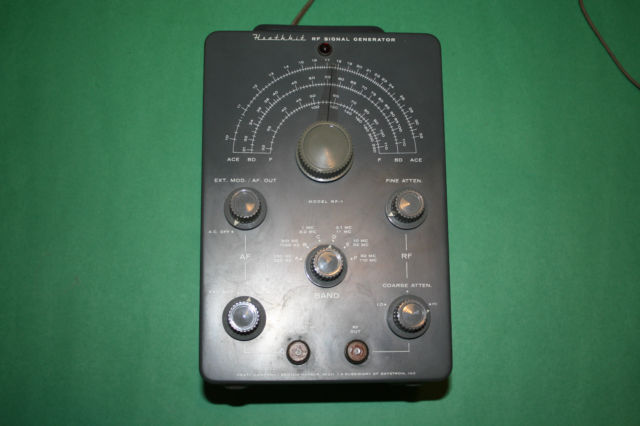 Heathkit Signal Generator : Heathkit rf the old tube radio archives