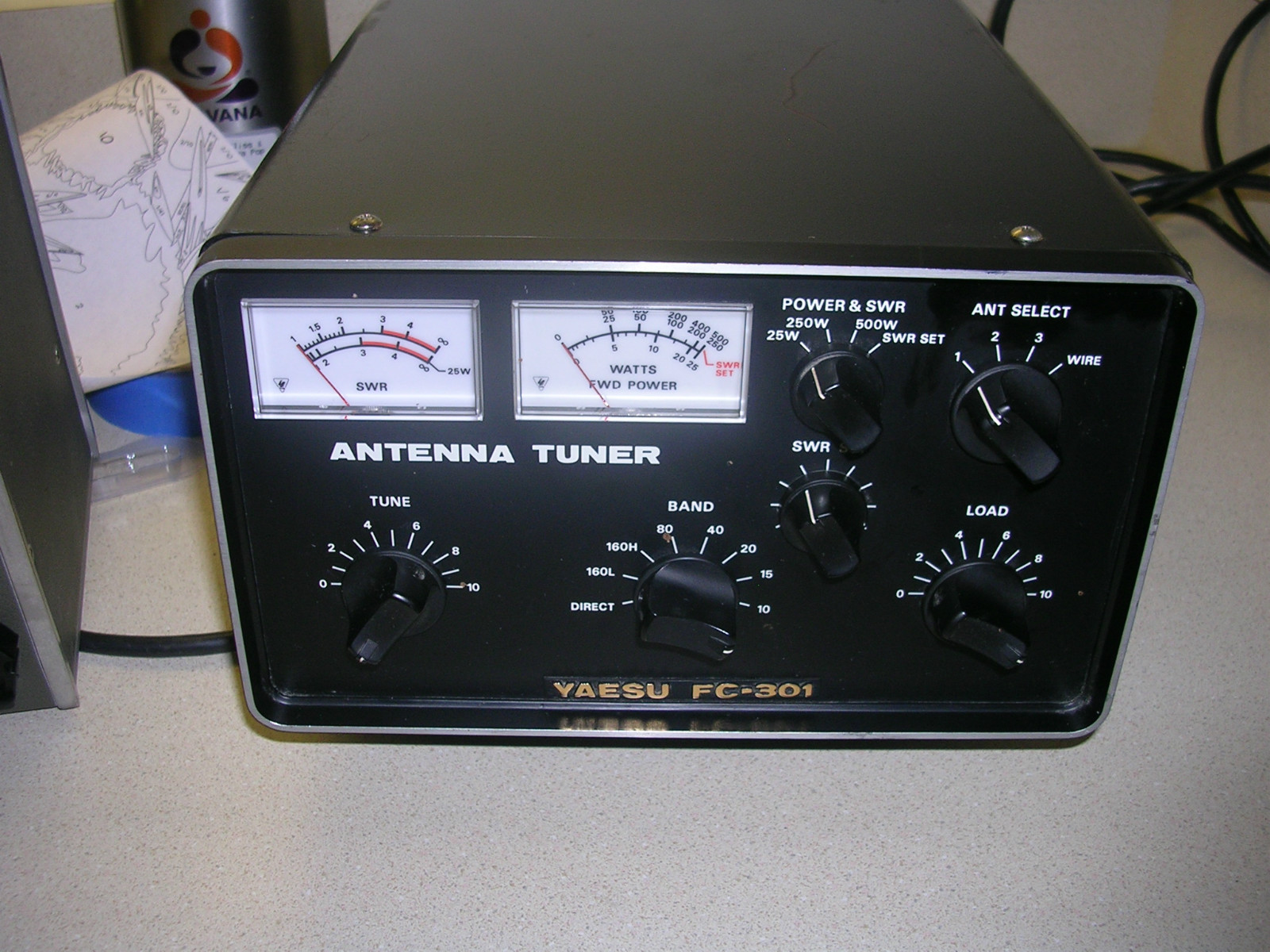yaesu fc 301 antenna tuner the old tube radio archives. Black Bedroom Furniture Sets. Home Design Ideas