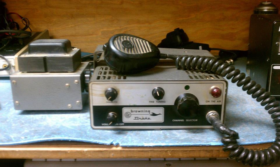 Browning-Drake with AC-115 Power Supply from the collection of Joe SWL #58