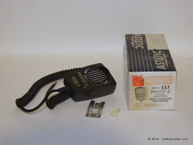 Astatic 557 Trucker II Microphone - in box