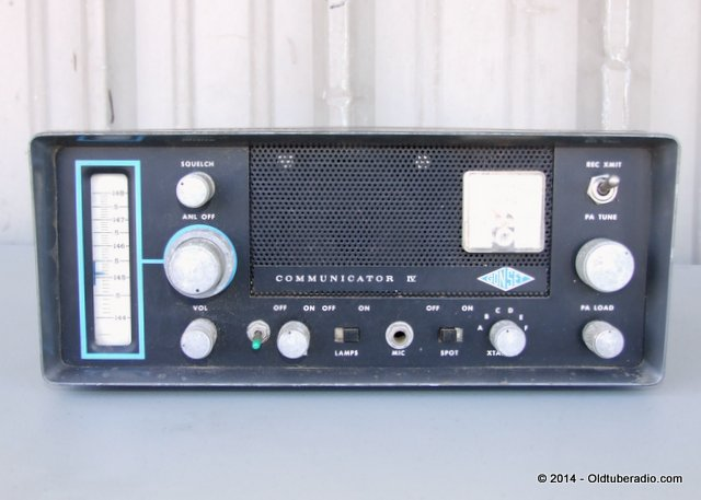 Gonset Communicator IV -2 Meter - from the collection of Pat Fennacy W6YEP