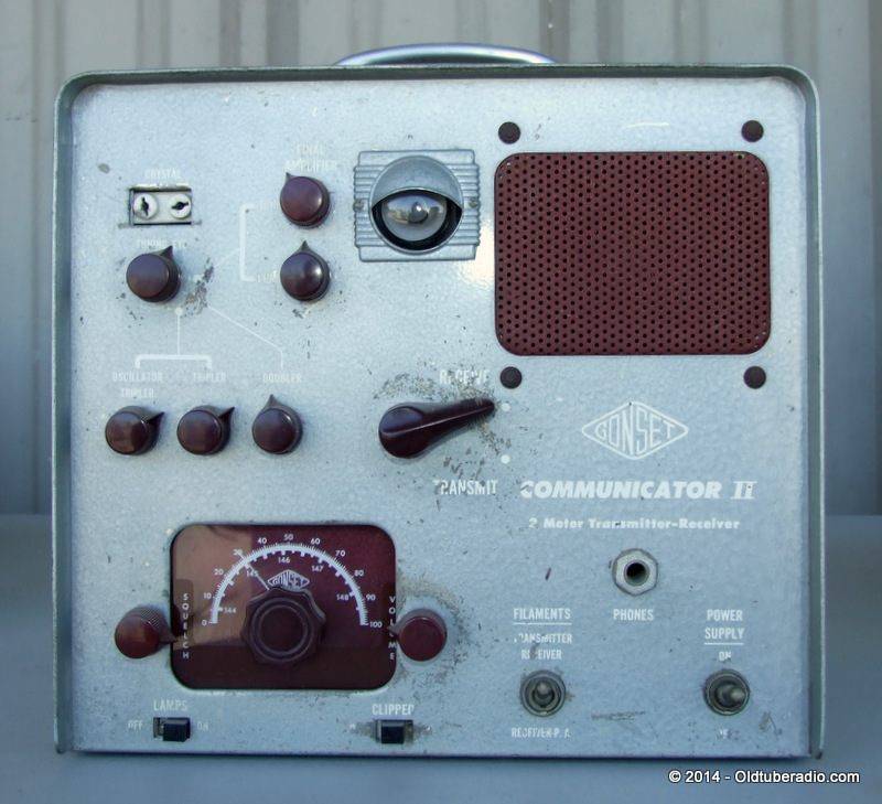 Gonset Communicator II - from the collection of Pat Fennacy W6YEP