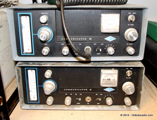 Pair of Gonset Communicator IV's - 2 Meter version - from the collection of Pat Fennacy W6YEP