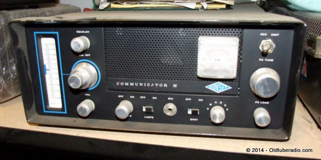 Gonset Communicator IV  220 - from the collection of Pat Fennacy W6YEP