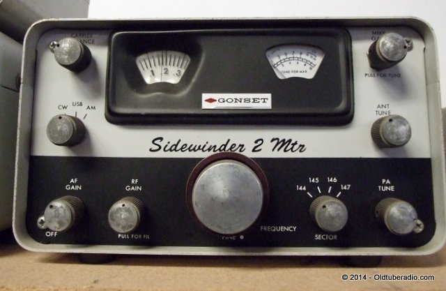 Gonset 900A Sidewinder - from the collection of Pat Fennacy W6YEP