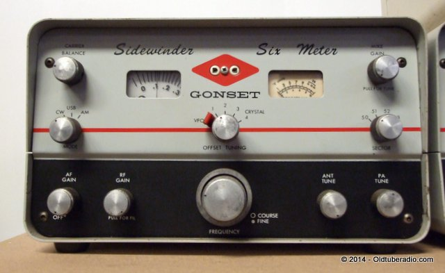 Gonset 910A Sidewinder - from the collection of Pat Fennacy W6YEP
