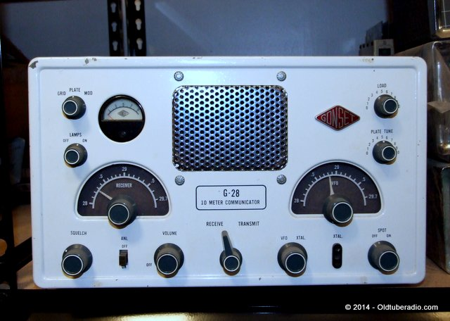 Gonset G-28 Communicator - from the collection of Pat Fennacy W6YEP