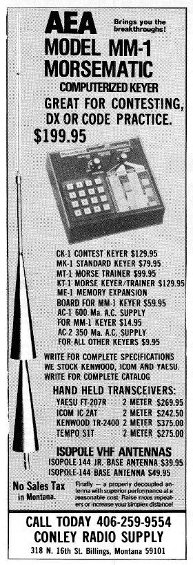 AEA Ad 73 Mag June 1981