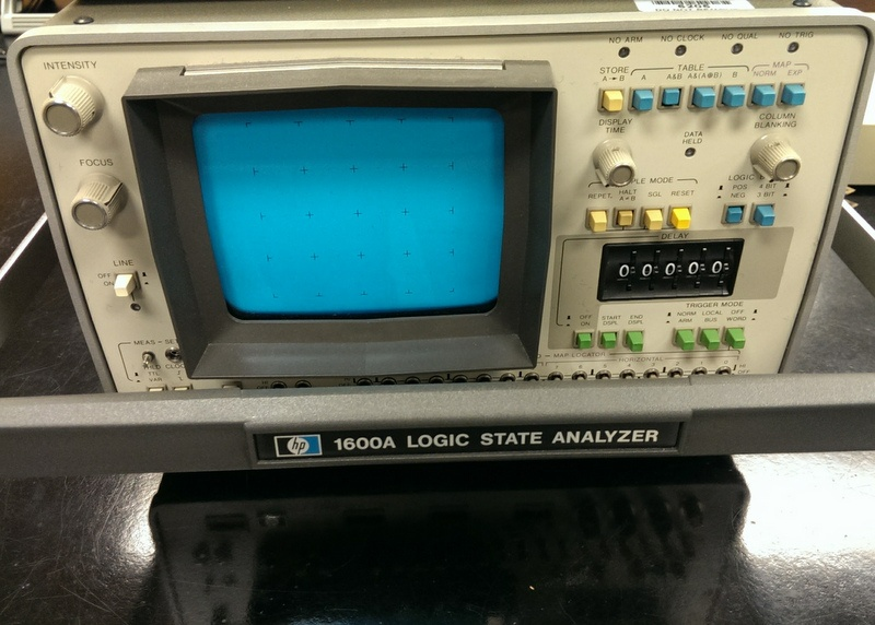 HP 1600A Logic State Analyzer