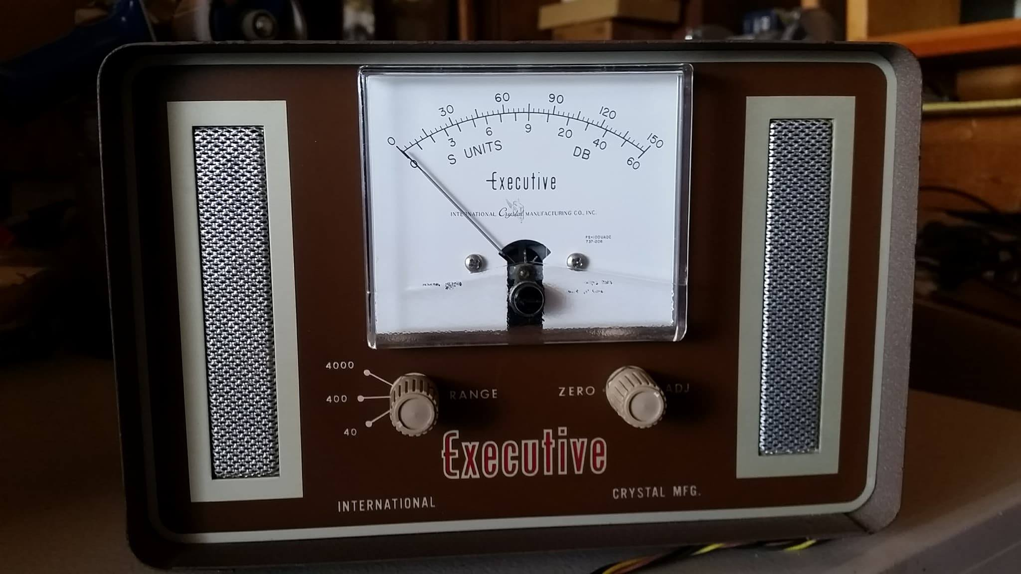 ICM Speaker S-Meter from the collection of Bob Milum