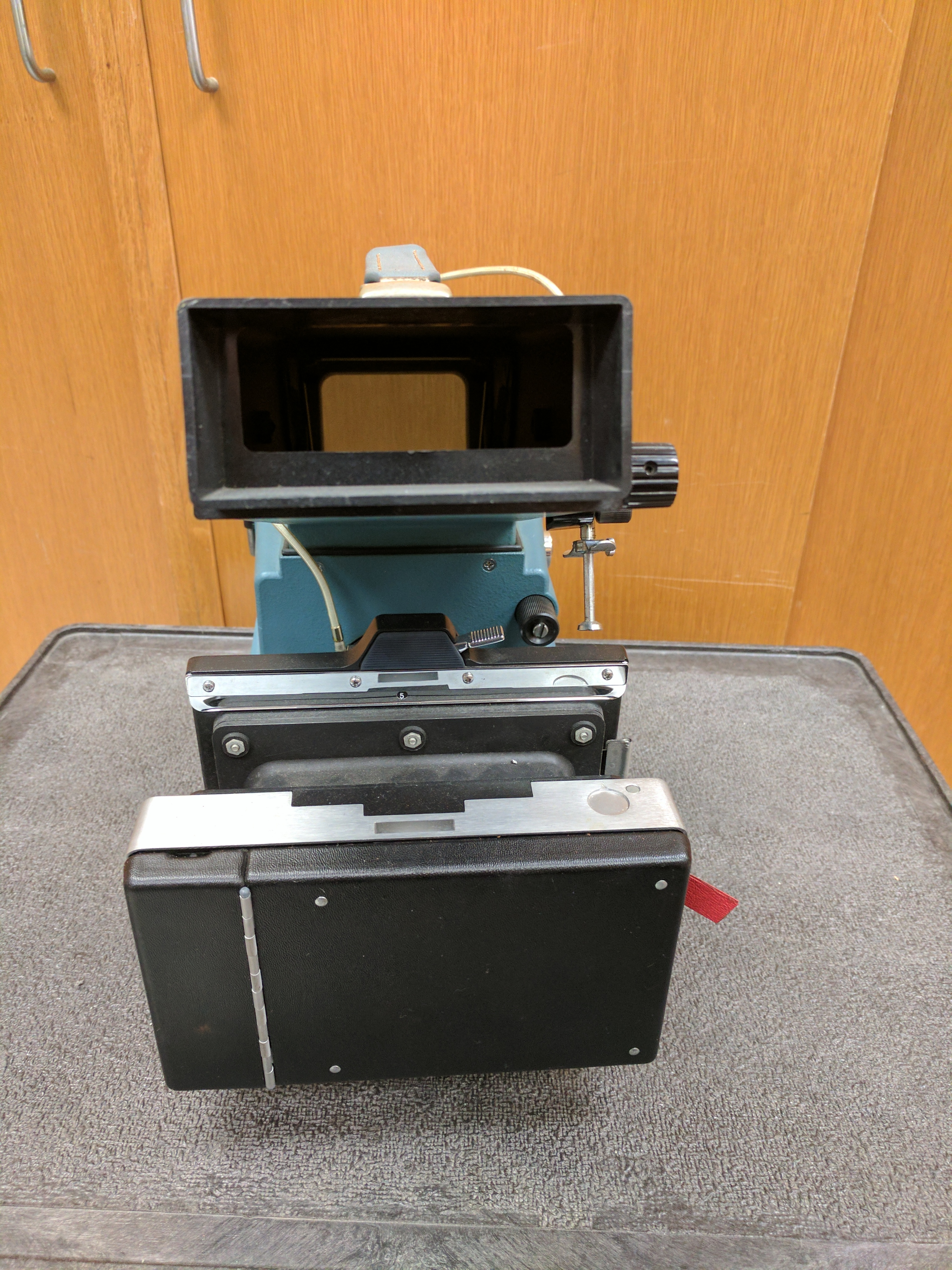Tektronix C-12 Oscilloscope Camera - Viewer Side