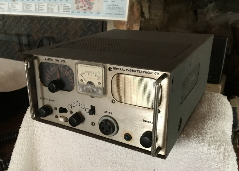 General Radiotelephone Master Control MC-1 from the collection of Bob Millum